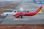 代打の切札さんが、関西国際空港で撮影したベトジェットエア A321-271NXの航空フォト(写真)