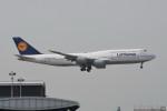 kuro2059さんが、香港国際空港で撮影したルフトハンザドイツ航空 747-830の航空フォト(飛行機 写真・画像)