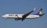 鉄バスさんが、福岡空港で撮影したスカイマーク 737-8HXの航空フォト(写真)