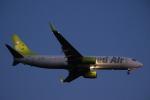 AIR兄ぃさんが、羽田空港で撮影したソラシド エア 737-86Nの航空フォト(写真)