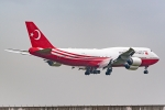 Ariesさんが、関西国際空港で撮影したトルコ政府 747-8ZV(BBJ)の航空フォト(飛行機 写真・画像)