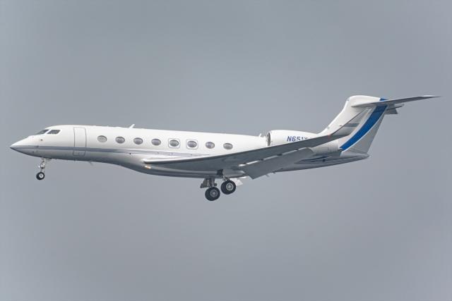 Ariesさんが、関西国際空港で撮影したサウジアラムコ G650 (G-VI)の航空フォト(飛行機 写真・画像)