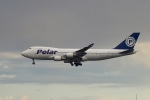 飛行機ゆうちゃんさんが、成田国際空港で撮影したポーラーエアカーゴ 747-46NF/SCDの航空フォト(飛行機 写真・画像)