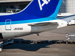 名無しの権兵衛さんが、羽田空港で撮影した全日空 767-381/ERの航空フォト(飛行機 写真・画像)