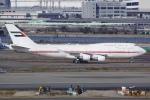 しゃこ隊さんが、羽田空港で撮影したドバイ・ロイヤル・エア・ウィング 747-422の航空フォト(写真)