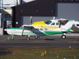 YaoRJOYさんが、八尾空港で撮影したアドバンス・エア・スポーツ T207A Turbo Stationair 7の航空フォト(飛行機 写真・画像)