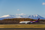 Cygnus00さんが、新千歳空港で撮影したタイ国際航空 777-2D7の航空フォト(写真)