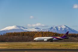 Cygnus00さんが、新千歳空港で撮影したタイ国際航空 777-2D7の航空フォト(飛行機 写真・画像)