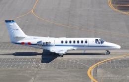 goshiさんが、名古屋飛行場で撮影した中日本航空 560 Citation Vの航空フォト(飛行機 写真・画像)