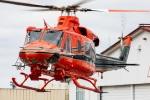 まんぼ しりうすさんが、富山空港で撮影した富山県消防防災航空隊 412EPの航空フォト(飛行機 写真・画像)