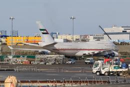 ryu330さんが、羽田空港で撮影したドバイ・ロイヤル・エア・ウィング 747-422の航空フォト(飛行機 写真・画像)