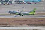 OMAさんが、仁川国際空港で撮影したジンエアー 737-8Q8の航空フォト(飛行機 写真・画像)