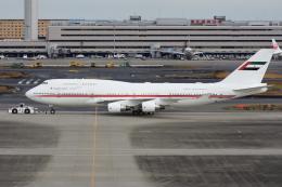 sky77さんが、羽田空港で撮影したドバイ・ロイヤル・エア・ウィング 747-422の航空フォト(飛行機 写真・画像)