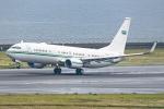 Ariesさんが、中部国際空港で撮影したサウジアラビア王室空軍 737-8DP BBJ2の航空フォト(飛行機 写真・画像)
