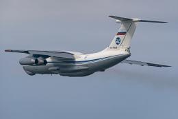 Ariesさんが、中部国際空港で撮影したロシア空軍 Il-76MDの航空フォト(飛行機 写真・画像)