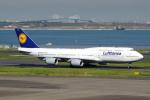 apphgさんが、羽田空港で撮影したルフトハンザドイツ航空 747-830の航空フォト(写真)