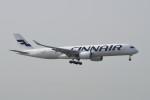 kuro2059さんが、香港国際空港で撮影したフィンエアー A350-941XWBの航空フォト(飛行機 写真・画像)