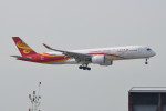 kuro2059さんが、香港国際空港で撮影した香港航空 A350-941XWBの航空フォト(飛行機 写真・画像)
