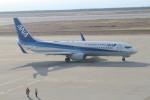 職業旅人さんが、神戸空港で撮影した全日空 737-881の航空フォト(飛行機 写真・画像)
