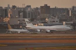 N.tomoさんが、羽田空港で撮影したドバイ・ロイヤル・エア・ウィング 747-422の航空フォト(飛行機 写真・画像)
