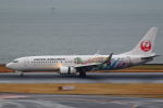 AkilaYさんが、羽田空港で撮影した日本航空 737-846の航空フォト(飛行機 写真・画像)