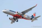 遠森一郎さんが、福岡空港で撮影したジェットスター・ジャパン A320-232の航空フォト(飛行機 写真・画像)