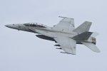 isiさんが、厚木飛行場で撮影したアメリカ海軍 F/A-18F Super Hornetの航空フォト(飛行機 写真・画像)