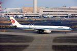 まいけるさんが、羽田空港で撮影した中国国際航空 A330-343Xの航空フォト(飛行機 写真・画像)