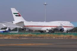 しゃこ隊さんが、羽田空港で撮影したドバイ・ロイヤル・エア・ウィング 747-422の航空フォト(飛行機 写真・画像)