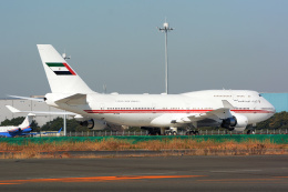 banshee02さんが、羽田空港で撮影したドバイ・ロイヤル・エア・ウィング 747-422の航空フォト(飛行機 写真・画像)