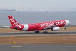 yabyanさんが、中部国際空港で撮影したタイ・エアアジア・エックス A330-300の航空フォト(飛行機 写真・画像)