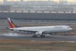 ANA744Foreverさんが、羽田空港で撮影したフィリピン航空 A330-343Xの航空フォト(飛行機 写真・画像)