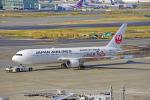 ちゃぽんさんが、羽田空港で撮影した日本航空 767-346の航空フォト(飛行機 写真・画像)