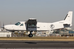 Hii82さんが、八尾空港で撮影したエビエーションサービス 208B Grand Caravanの航空フォト(飛行機 写真・画像)