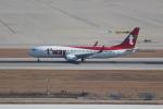 OMAさんが、仁川国際空港で撮影したティーウェイ航空 737-8ALの航空フォト(飛行機 写真・画像)