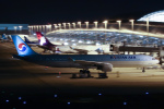 代打の切札さんが、関西国際空港で撮影した大韓航空 A330-323Xの航空フォト(飛行機 写真・画像)