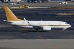 TIA spotterさんが、羽田空港で撮影した南山公務 737-7ZH BBJの航空フォト(飛行機 写真・画像)
