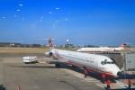 ぽっぽさんが、馬公空港で撮影した遠東航空 MD-83 (DC-9-83)の航空フォト(飛行機 写真・画像)