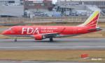 RINA-281さんが、福岡空港で撮影したフジドリームエアラインズ ERJ-170-100 (ERJ-170STD)の航空フォト(飛行機 写真・画像)