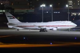 TIA spotterさんが、羽田空港で撮影したドバイ・ロイヤル・エア・ウィング 747-422の航空フォト(飛行機 写真・画像)