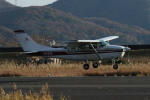 endress voyageさんが、岡南飛行場で撮影した朝日航空 TU206G Turbo Stationair 6の航空フォト(飛行機 写真・画像)