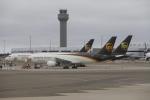 masa707さんが、オークランド国際空港で撮影したUPS航空 757-24APFの航空フォト(飛行機 写真・画像)