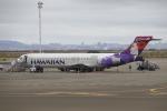 masa707さんが、オークランド国際空港で撮影したハワイアン航空 717-2BLの航空フォト(飛行機 写真・画像)