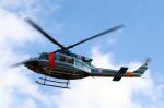 なごやんさんが、名古屋飛行場で撮影した大阪府警察 412EPの航空フォト(飛行機 写真・画像)