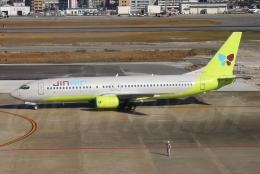 kan787allさんが、福岡空港で撮影したジンエアー 737-86Nの航空フォト(飛行機 写真・画像)