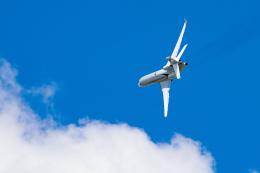 gomaさんが、ル・ブールジェ空港で撮影したダッソー・アビエーション Falcon 8Xの航空フォト(飛行機 写真・画像)