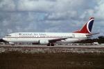 tassさんが、フォートローダーデール・ハリウッド国際空港で撮影したカーニバル・エアラインズ 737-4Q8の航空フォト(飛行機 写真・画像)