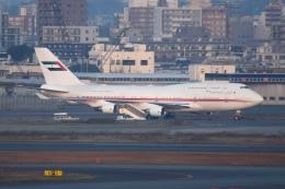 あおいそらさんが、羽田空港で撮影したドバイ・ロイヤル・エア・ウィング 747-422の航空フォト(飛行機 写真・画像)