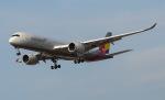 アングリー J バードさんが、福岡空港で撮影したアシアナ航空 A350-941XWBの航空フォト(飛行機 写真・画像)