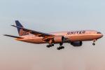 RUNWAY23.TADAさんが、成田国際空港で撮影したユナイテッド航空 777-222/ERの航空フォト(飛行機 写真・画像)